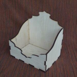 Tároló 19x14x20,5 cm